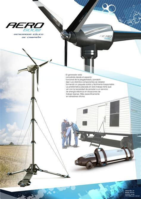 portable wind power generator by sergio ohashi at coroflot