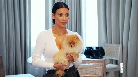 why do pomeranians bark so much steals niece penelope in kuwtk clip