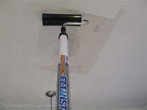 How To Paint A Ceiling With A Roller by How To Paint A Ceiling After Patching Homeright