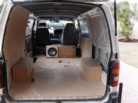Interior Toyota Hiace by 2000 Toyota Hiace Interior Fit Out Boostcruising
