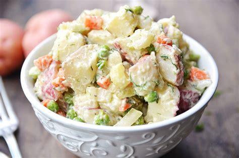 easy salad recipe easy potato salad recipes food recipes here