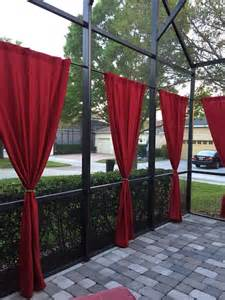 patio screen curtains 17 best images about screened patio curtain ideas on