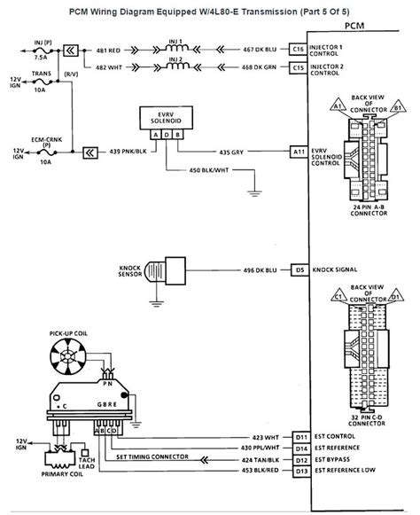 tbi injector wiring diagram tbi distributor wiring