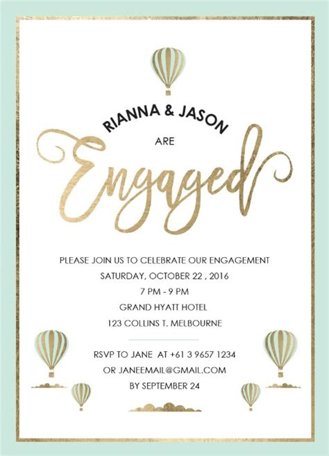 Engagement Invitations by Engagement Invitations Independent Designs Paperlust
