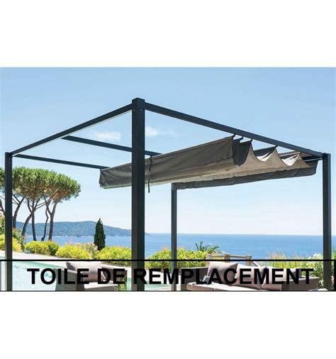 Toile De Rechange Pour Tonnelle 2824 tonnelle toit ajustable obasinc