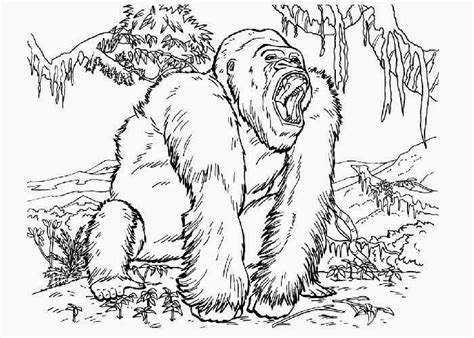 king kong coloring pages free coloring pages and