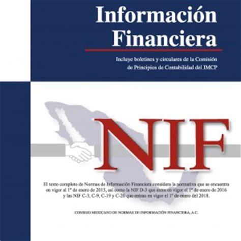 libro isr 2016 imcp pdf librer 237 a fiscal 187 normas de informaci 243 n financiera nif 2015