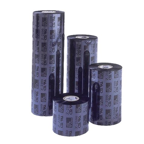 Ribbon Barcode Ssw 110mm X 300m Wax 110mm x 300m wax resin ribbon industrial 4 inch 25mm