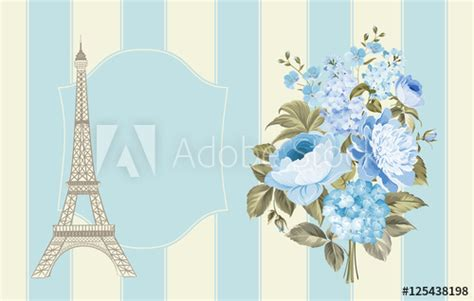 eiffel tower card template eiffel tower post card design template of vintage post