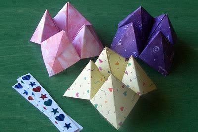 Fortune Tellers Origami - origami maniacs origami fortune teller