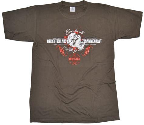 Ultrasshop Aufkleber Drucken by T Shirt Ostdeutschland Zusammenhalt G54 Ostzone T Shirts
