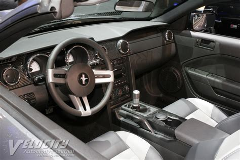 2005 Mustang Custom Interior by Picture Of 2005 Ford Mustang Convertible By Roush Performance