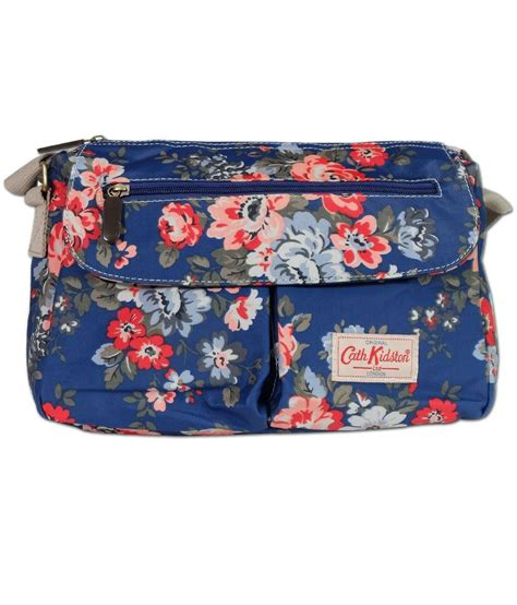 Cath Kidston Sling Bag cath kidston vinatge flower printed blue sling bag buy cath kidston vinatge flower printed