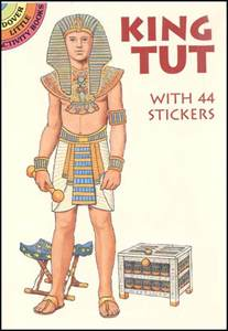King Tut Essay by King Tut Sticker Paper Doll 013539 Details Rainbow Resource Center Inc