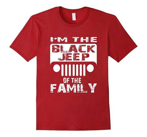 jeep shirt jeep t shirt im the black jeep of the family shirt rt