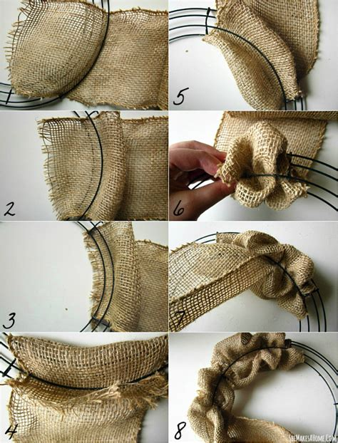 printable instructions to make a burlap wreath bison bantaran 2013 12 15