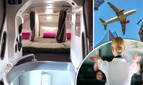laterooms secret rooms revealed flight secrets revealed there s a bedroom on planes travel news travel express co uk