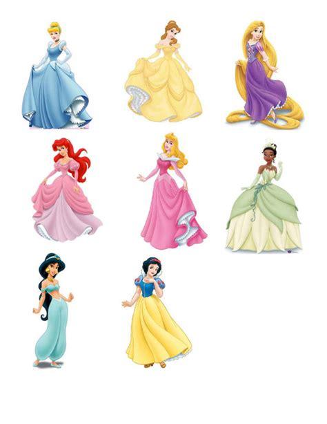 DIGITAL Disney Princess Centerpieces Cinderella Rapunzel