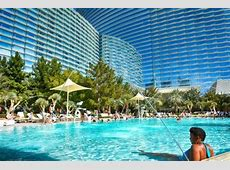 The View of the Aria hotel Pool - Picture of Vdara Hotel ... Aria Hotel Vegas Rooms