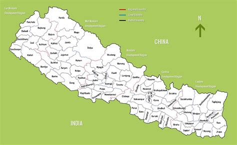 nepal on map nepal maps detailed nepal travel maps