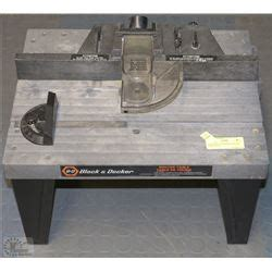 black and decker router table with kastner auctions