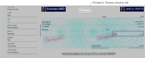 emirates nbd bank exchange rates cheque specimen