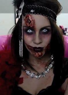 zombie flapper tutorial dead 1920 s flapper gal great gatsby halloween