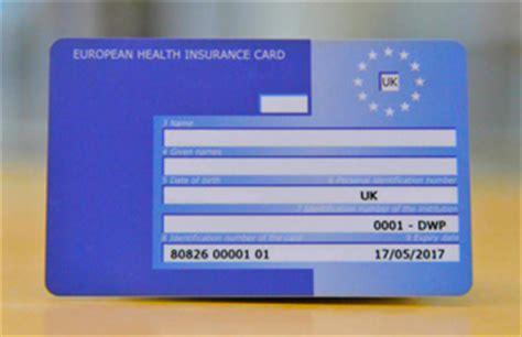apply for a free ehic card healthcare abroad nhs choices