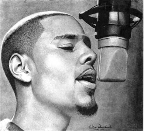 Drawing J Cole by J Cole Portrait By Cullenw3789