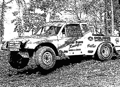 off road truck coloring page racing truck coloring pages