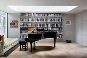 bookshelf ideas for room modern bookcase grey walls living room design ideas