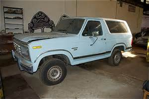 1986 Ford Bronco For Sale 1986 Ford Bronco For Sale Oakland California