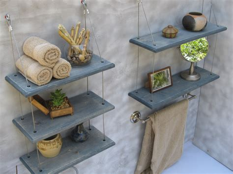 Floating Shelves In Bathroom Bathroom Shelves Floating Shelves Industrial Shelves
