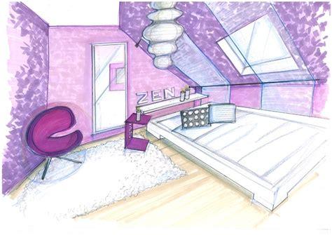 chambre en perspective dessin chambre perspective chaios com