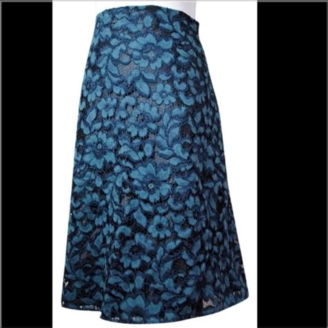19 zara dresses skirts zara blue lace floral