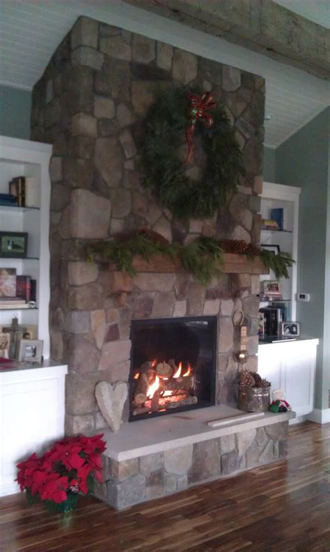 Cultured Fireplace Mantels by Bucks County Dressed Fieldstone By Boral Cultured