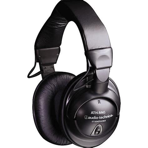 Audio Technica Ath S500 Monitoring Headphone audio technica ath m45 studio monitor headphones black musician s friend