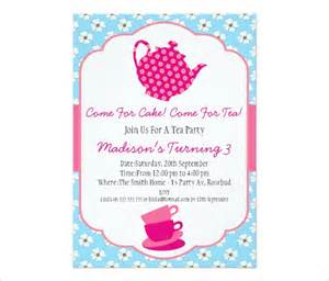 tea invitation template tea invites gangcraft net