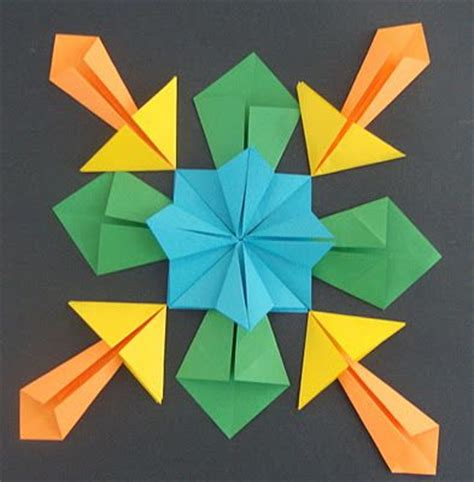 Maths Origami - 1000 ideas about symmetry activities on