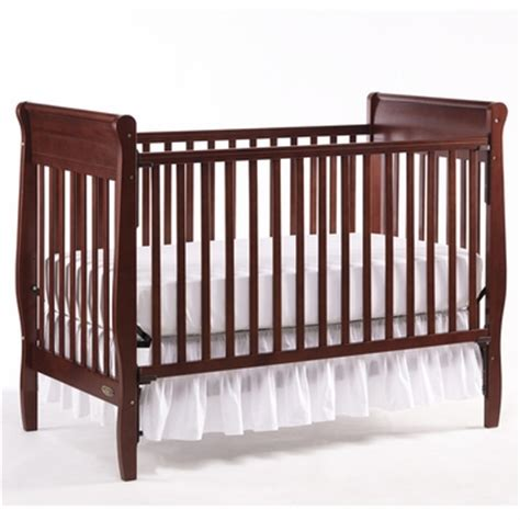 Graco Convertible Cribs Graco 4 In 1 Convertible Crib In Cherry Free Shipping