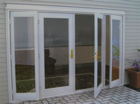 Backyard Doors by Patio Door