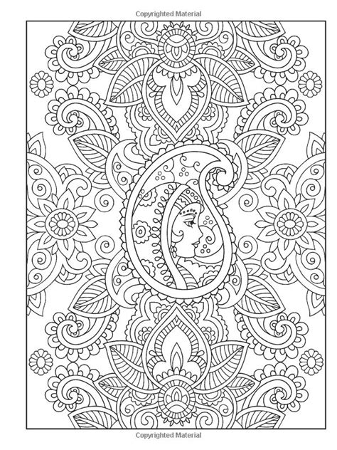 creative haven mehndi designs coloring book traditional