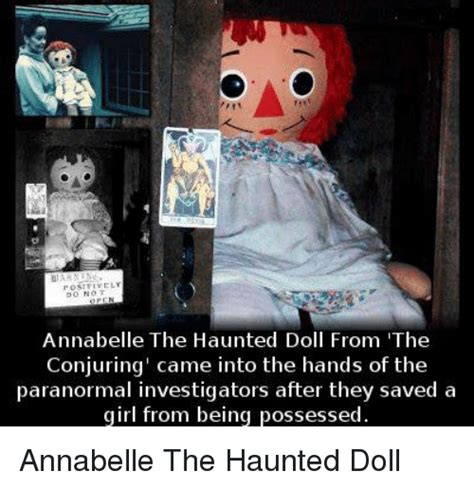haunted doll annabelle wiki 25 best memes about annabelle the haunted doll