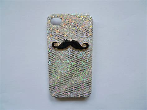 handmade bling with beard cell phone for iphone