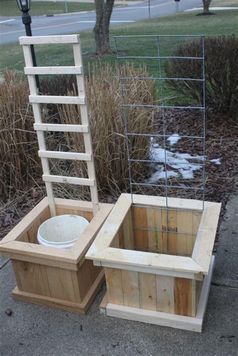 How To Build A Grow Cabinet How To Build Garden Grow Boxes Home Design Garden
