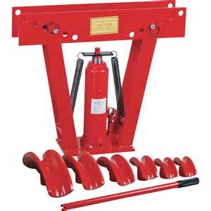hydraulic pipe bender for sale northern industrial hydraulic pipe bender 12 ton pipe