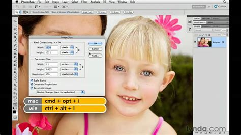 website tutorial lynda photoshop cs5 resizing images for the web lynda com