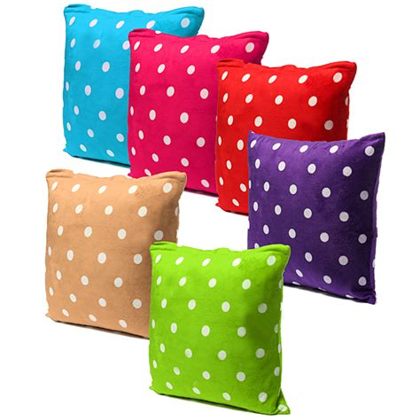 polka dot couch polka dot plus pillow case car sofa back waist cushion
