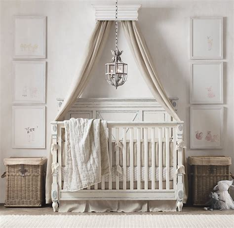 canopy bed crown beautiful baby room and nursery design styles by rh
