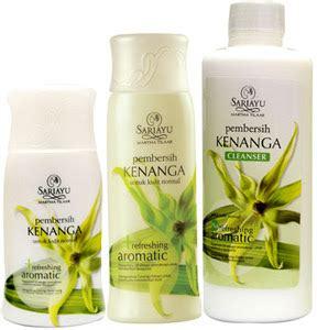 Parfum Sariayu produk sariayu cleanser pembersih refreshing aromatic kenanga syedzana
